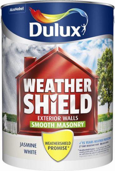 Dulux Weathershield Masonry Paint Smooth – Jasmine White 5L