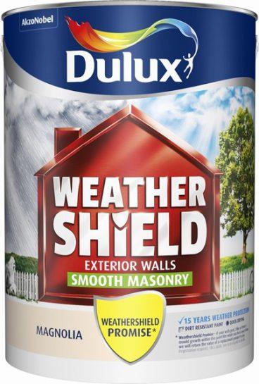 Dulux Weathershield Masonry Paint Smooth – Magnolia 5L