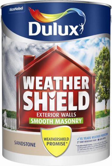 Dulux Weathershield Masonry Paint Smooth – Sandstone 5L
