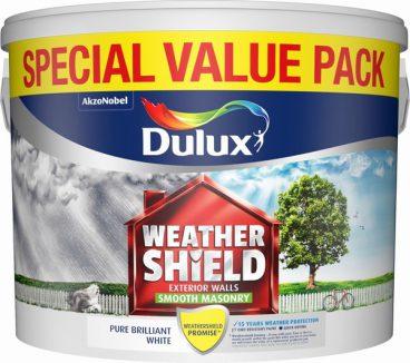 Dulux Weathershield Masonry Paint Smooth – Brilliant White 7.5L