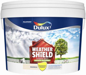 Dulux Weathershield Masonry Paint Smooth – Magnolia 10L