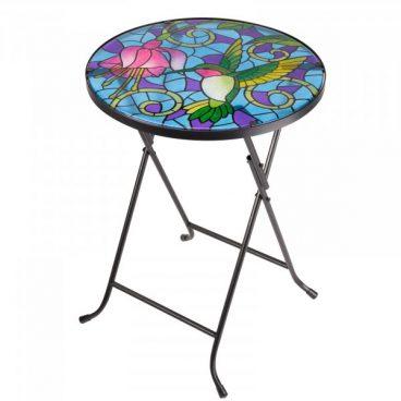 Bistro Glass Table – Hummingbird