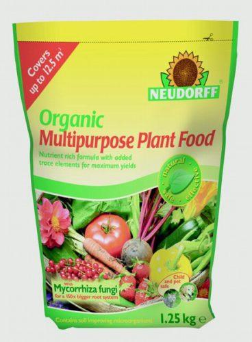 Neudorff Organic Multi Purpose Plant Food 1.25kg