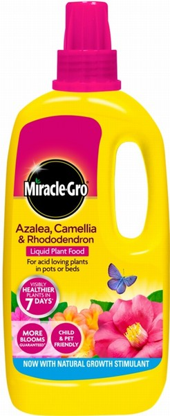 Miracle-Gro Azalea, Camellia & Rhododendron Liquid Plant Food 1L