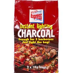 Fuel Express Instant-Light Lumpwood Charcoal 2kg
