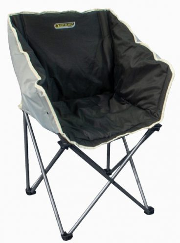 Autograph Kent Chair in Black and Grey