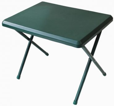 Fleetwood low plastic table in green