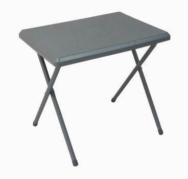 Fleetwood low plastic table in grey