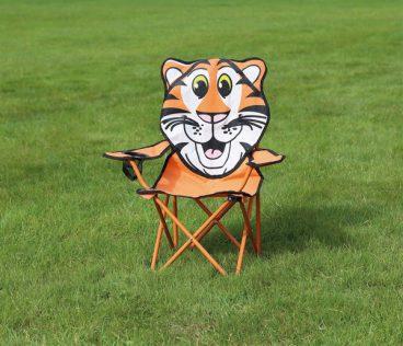 Quest – Childrens Fun Folding Chair – Tiger