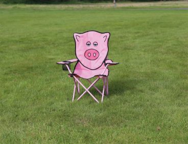 Quest – Childrens Fun Folding Chair – Pig