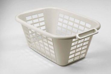 Addis – Rectangular Laundry Basket – Linen