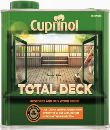 CUP TOTAL DECKING CLEAR 2.5L
