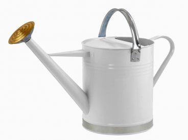 Ambassador Metal Watering Can 2 Gallon Cream