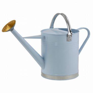 Ambassador Metal Watering Can 2 Gallon Blue