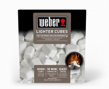 WEBER BBQ LIGHTER CUBES PK22