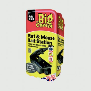 BIG CHEESE MOUSE & RAT KILLER BAIT STATION