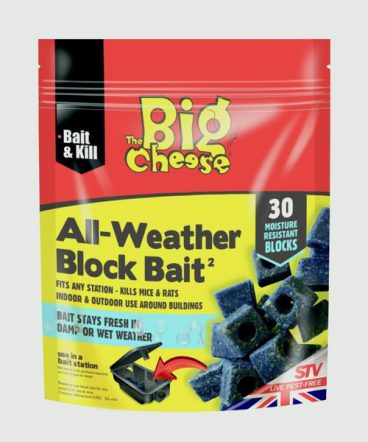 Big Cheese All Weather Block Bait 30x10g