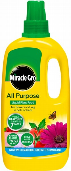 Miracle-Gro All Purpose Concentrated Liquid Plant Food 1L