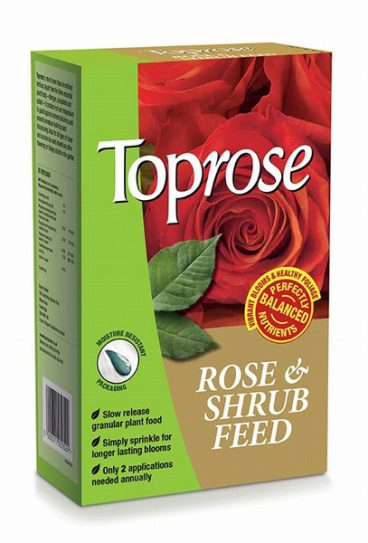 Toprose Rose & Shrub Feed 1kg
