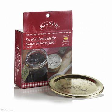 Kilner – Jam Jar Lids – Pack of 12