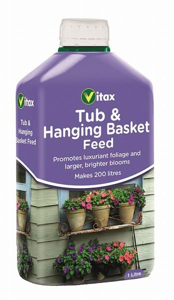 Vitax – Hanging Basket Feed – 1L