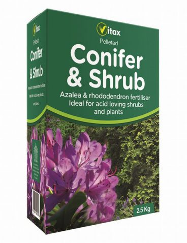 Vitax – Conifer & Shrub Food – 2.5kg