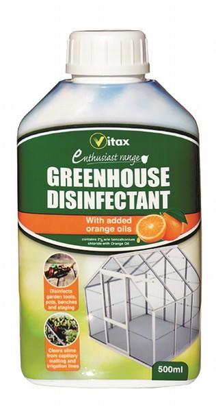 Vitax – Greenhouse Disinfectant – 500ml