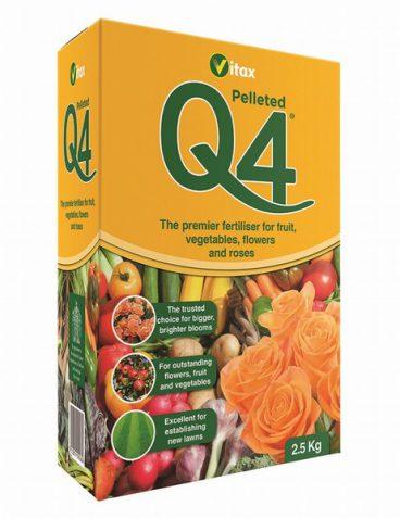 Vitax – Q4 Fertiliser – 2.5kg