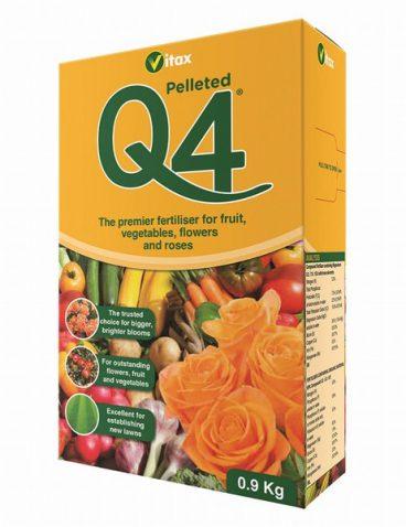 Vitax – Q4 Fertiliser – 900g