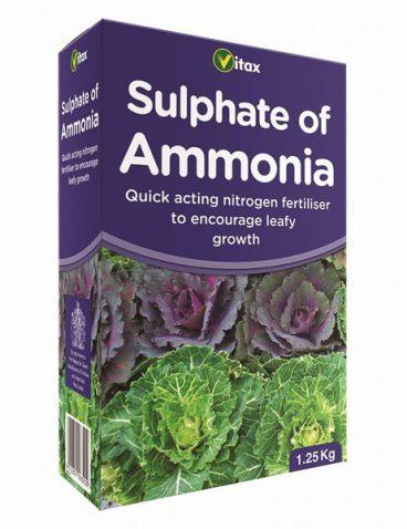Vitax – Sulphate of Ammonia – 1.25kg