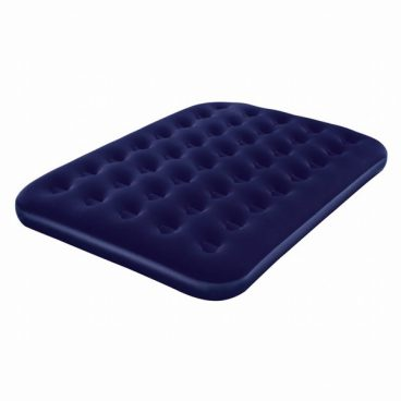 AIRBED DOUBLE DELUXE FLOCK
