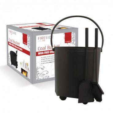 Deville Coal Bucket c/w Companion Set