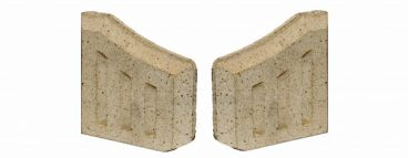 7in Fire brick side bricks twin pack