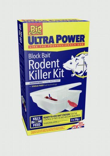 Big Cheese Ultra Power Block Bait Rodent Killer Kit