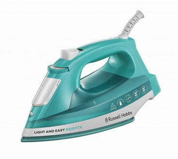 Russell Hobbs Light & Easy Iron Aqua
