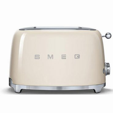 SMEG RETRO CREAM TOASTER 2 SLICE