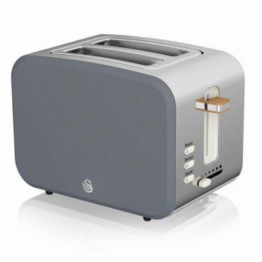 Swan Nordic – 2 Slice Toaster – Grey