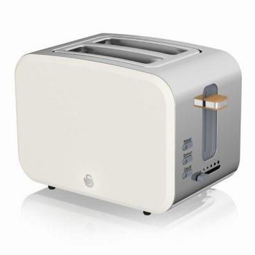 Swan Nordic – 2 Slice Toaster – White