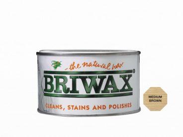 Briwax Wax Polish – Medium Brown – 400gm