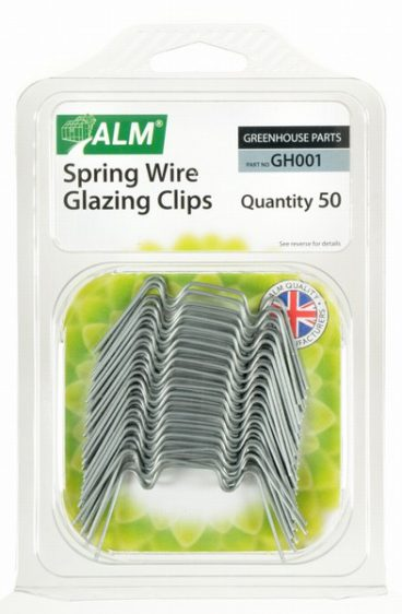 ALM – Spring Wire Glazing Clips – Pack of 50