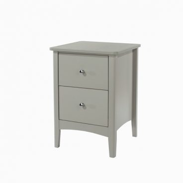 COMO 2 DRAWER BEDSIDE