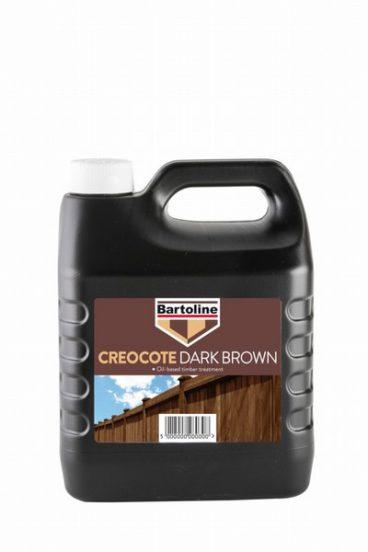 CREOCOTE BARTOLINE DARK BROWN 4L