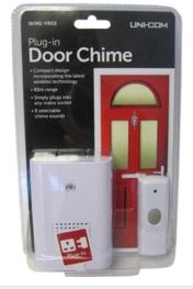 DOOR BELL UNI-COM PLUG IN
