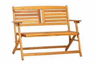 Atlantic Folding Bench – 2 Seater