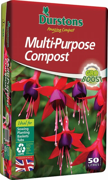 COMPOST M/P 50L DURSTONS (3 for £15)