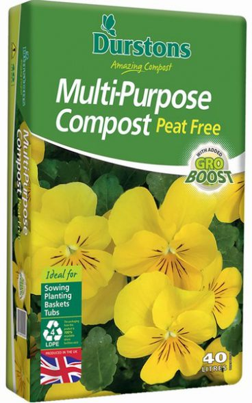 COMPOST M/P PEAT FREE 40L DURSTONS