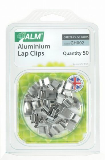 ALM – Glazing Lap Clips – Pack of 50