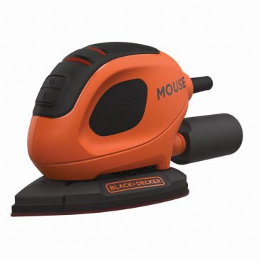 BLACK & DECKER MOUSE SANDER + ACCESSORIES