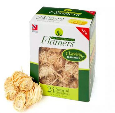 FIRELIGHTERS NATURAL FLAMERS