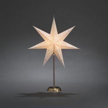 Konstsmide – Standing Paper Star LED